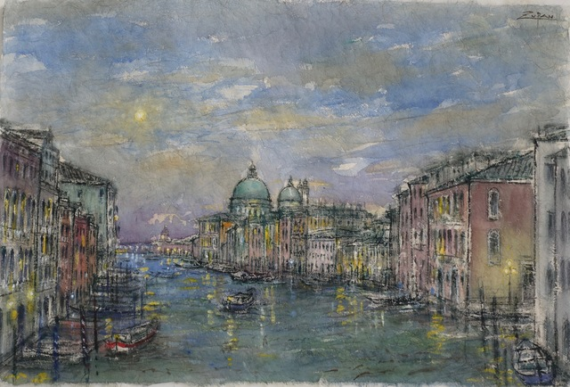 , 'Grand Canal, View to Salute,' 2017, Galerie d'Orsay
