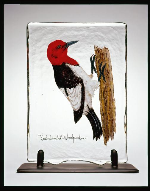 , 'BIRD PAGE:RED-HEADED WOODPECKER,' 2006, Traver Gallery