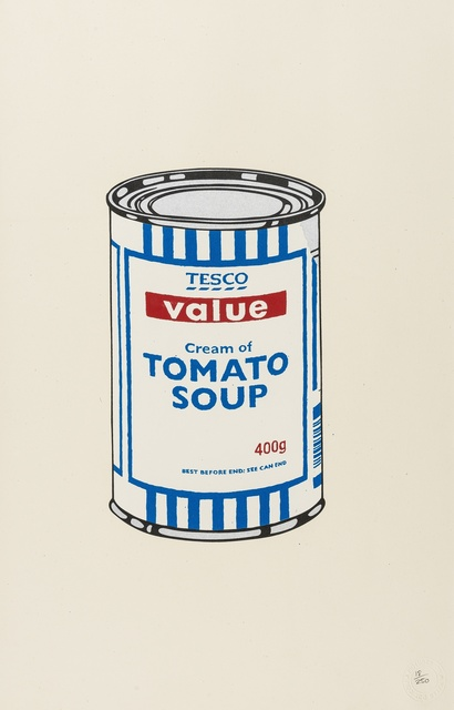 Banksy, 'Soup Can (Original)', 2005, Forum Auctions