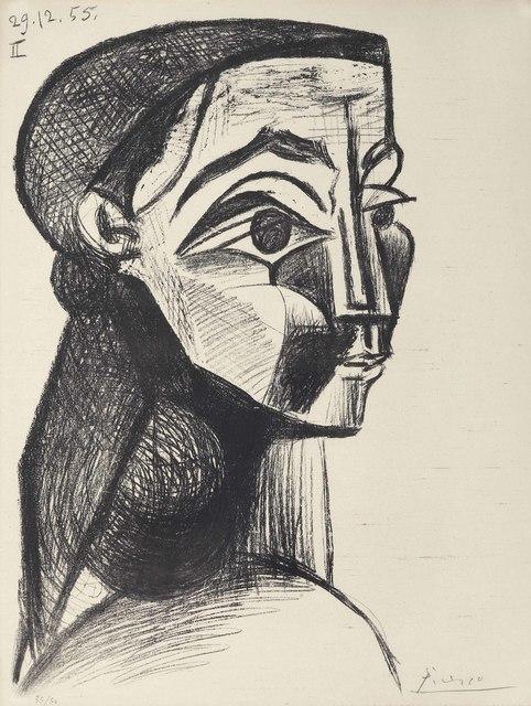 Pablo Picasso, 'Portrait de femme II', 1955, Christie's