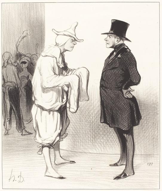 Honoré Daumier, 'Carotte du voltigeur', 1844, National Gallery of Art, Washington, D.C.