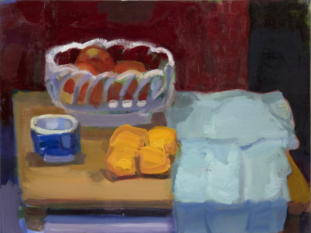 , 'Apples and Tangerines #2,' 2014, BCK Fine Arts Gallery at Montauk