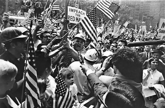 Garry Winogrand, 'Hard Hat Rally, New York', 1969, Hyperion Press Ltd.