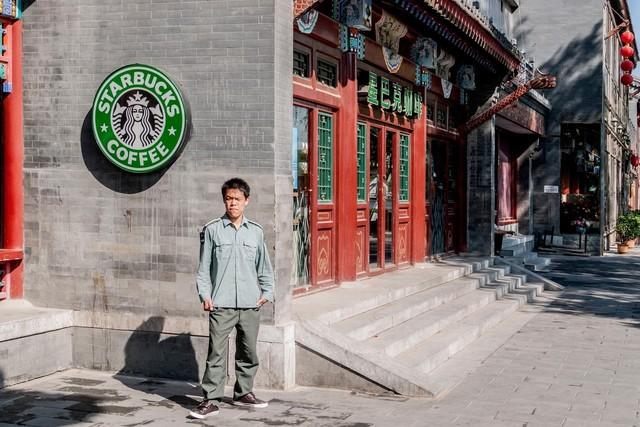 , 'Starbucks,' 2018, Wallace Galleries