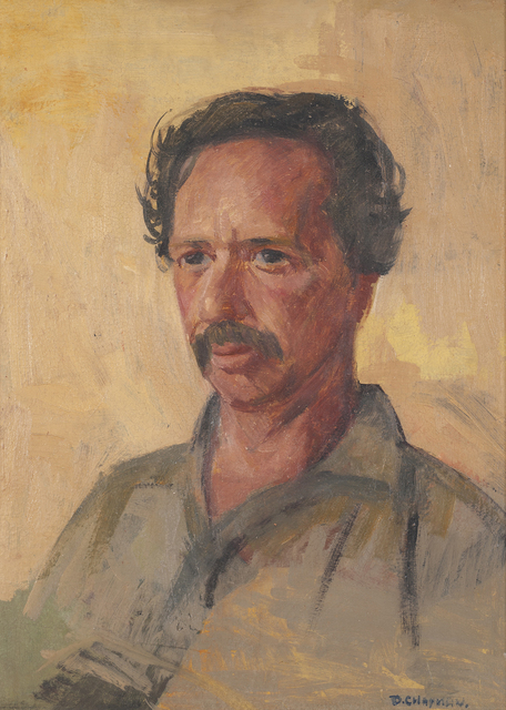 Dora Chapman, 'Portrait of Jim', ca. 1955, Painting, Oil on canvas, Charles Nodrum Gallery