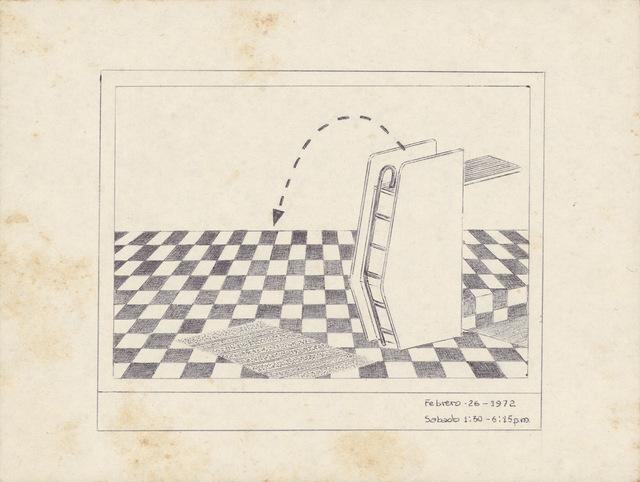 , 'Untitled (26th of February 1972),' 1972, Barbara Thumm