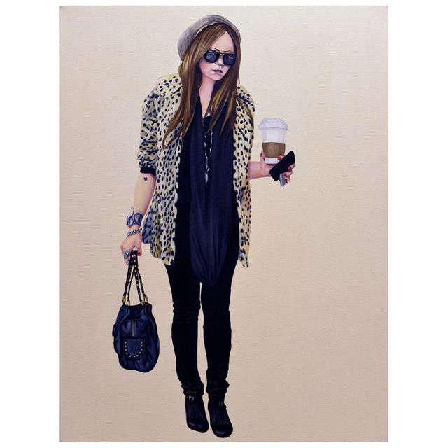 , 'Courtney Walking - Leopard Coat,' 2008-2012, Jen Mauldin Gallery