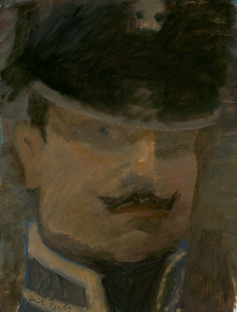 , 'Lieutenant Freidrich Von Trott, Death's Head Hussar, at Waterloo,' 2014, Paul Thiebaud Gallery