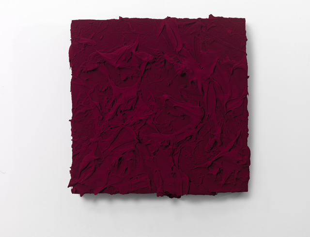 , 'As yet untitled (Quinacridone magenta),' 2016, Galerie Forsblom
