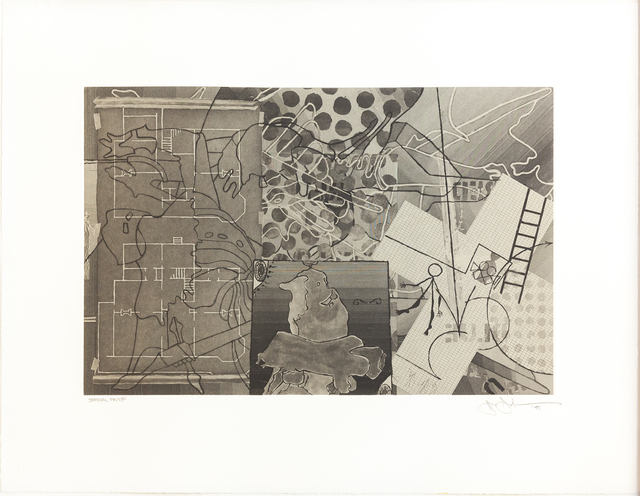 Jasper Johns, 'Untitled', 1997, International Print Center New York (IPCNY) Benefit Auction