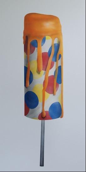, 'Orange Push-Up,' 2013, Rosenfeld Gallery