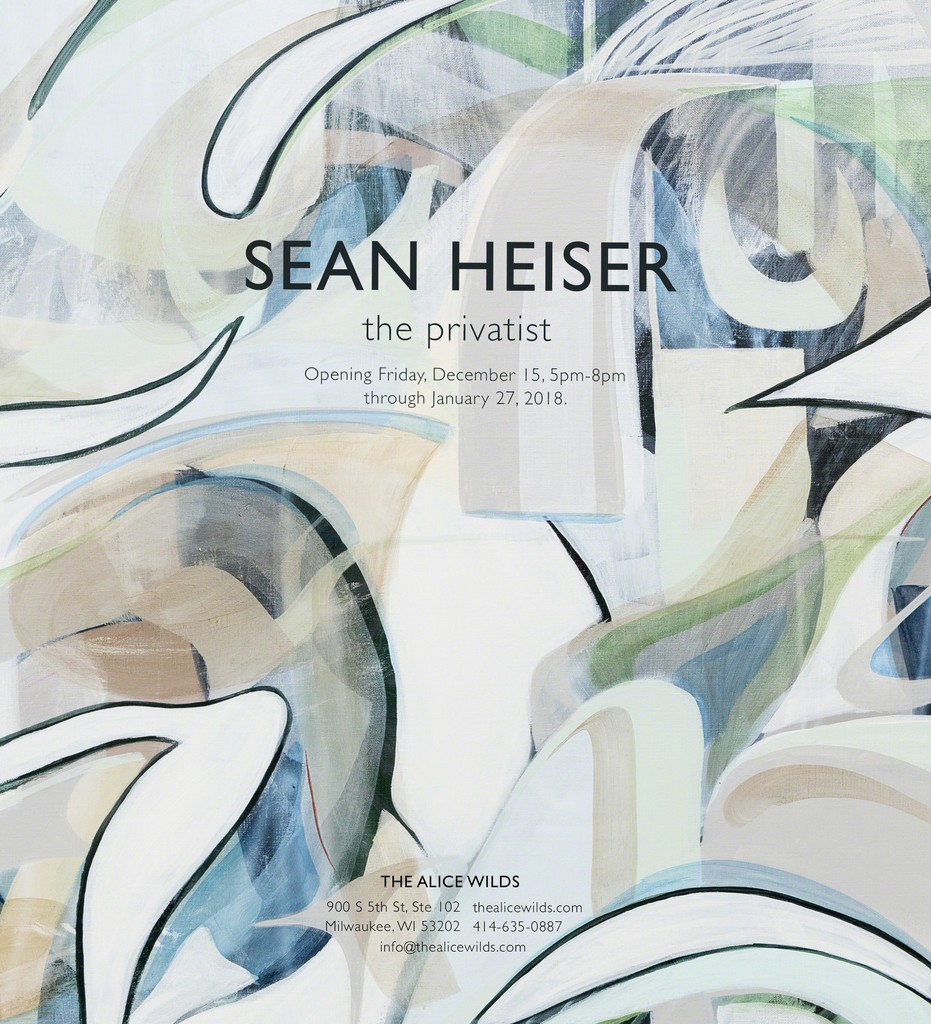 Sean Heiser: the privatist at The Alice Wilds