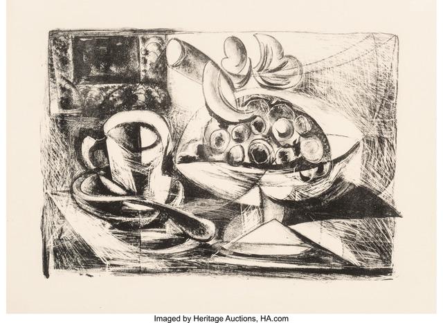 Pablo Picasso, 'Nature morte au Compotier', 1945, Heritage Auctions