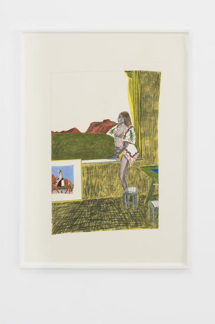 Marie Jacotey, 'Rodéo girl', 2015, Hannah Barry Gallery