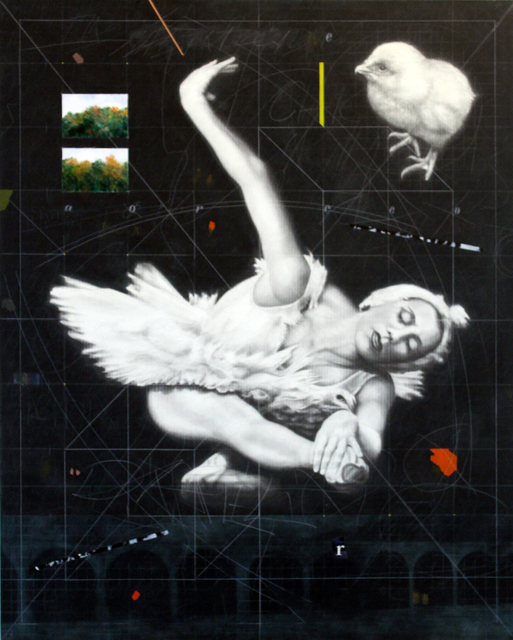 , 'Dancer with Chick ,' 2010, Resource Art