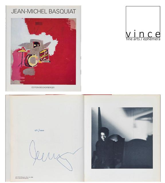 ", '""Jean-Michel Basquiat"", PAINTINGS, 1985, SIGNED, Edition 69/1000, Galerie Bruno Bischofberger,' 1985, VINCE fine arts/ephemera"
