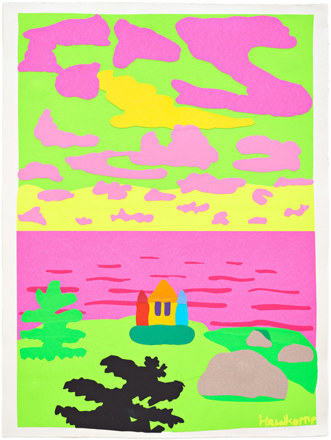 , 'Fluorescent Bounce House,' 2017, Pace Prints