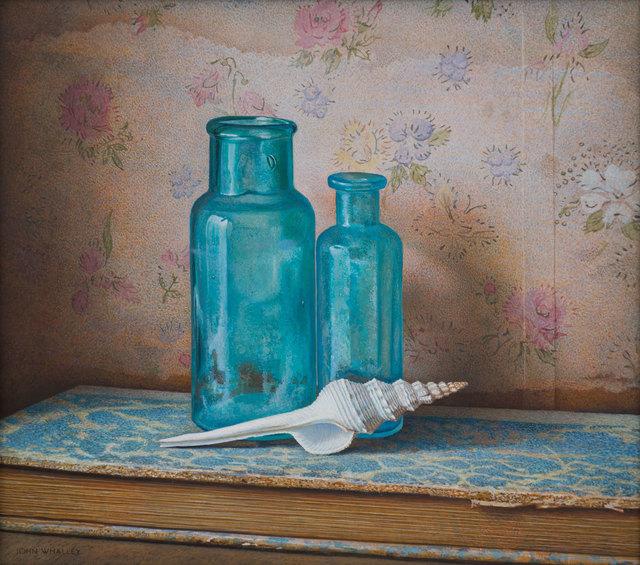 John Whalley, 'Blue Bottles', 2019, Vose Galleries