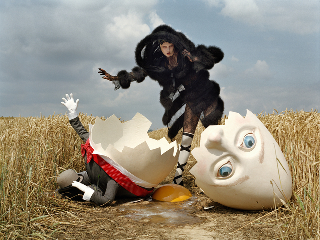 , 'Karlie Kloss and broken Humpty Dumpty, Rye, East Sussex, 2010  ,' 2010, Michael Hoppen Gallery