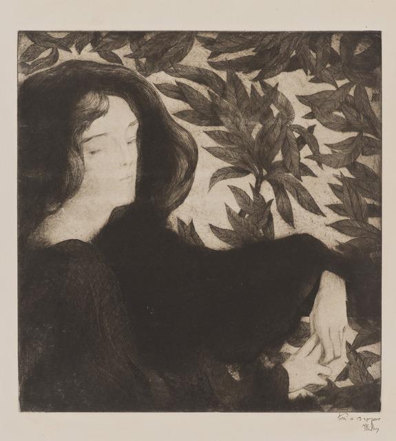 , 'Beatrice,' ca. 1899, Hammer Museum