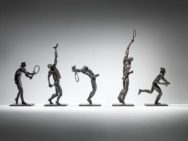 , 'The Serve (set of 5 figures),' 2019, Sladmore Contemporary