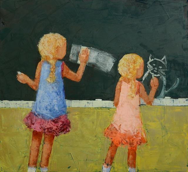 """, '""""Blackboard"""",' 2017, Rice Polak Gallery"""