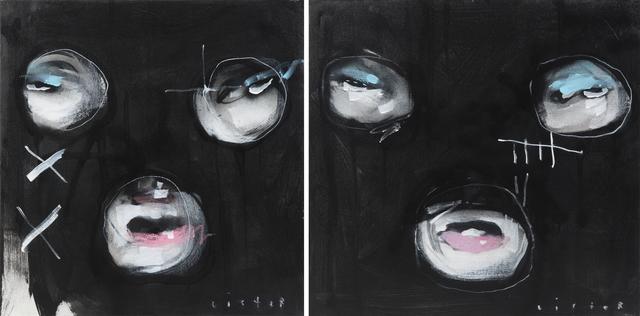 Anthony Lister, 'Black Masks', 2012, Julien's Auctions