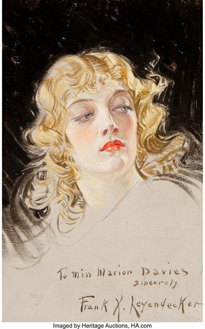 Francis Xavier Leyendecker, 'Marion Davies', Heritage Auctions