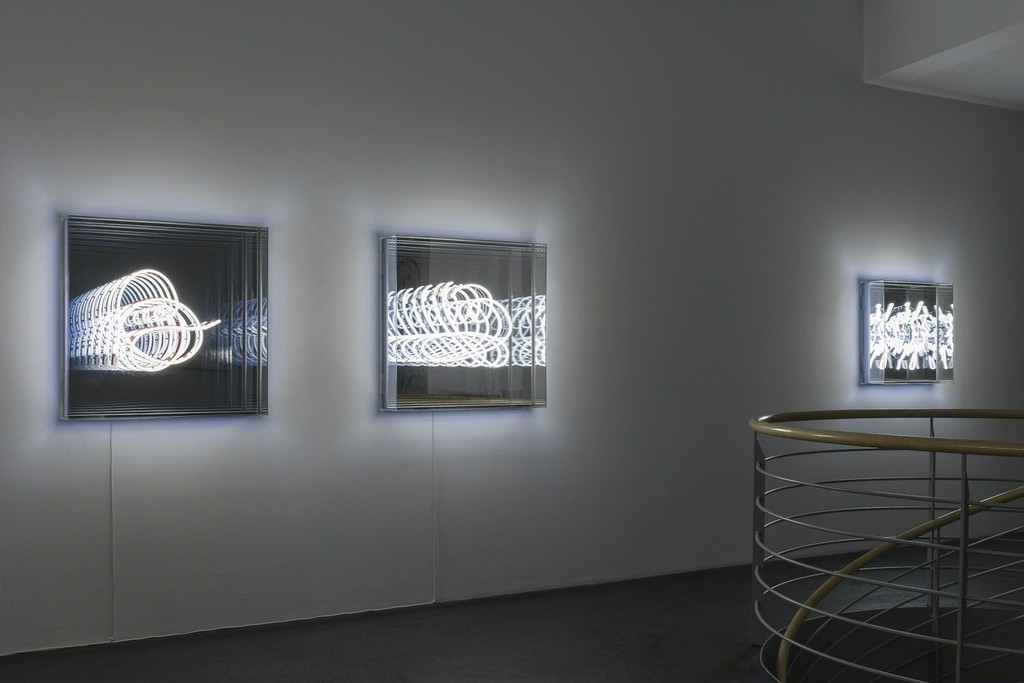 Brigitte Kowanz »Codes and Cables«   Photo: Wolfgang Stahl