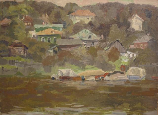 Mikhail Petrovich Fomin, 'Low water', 1979, Surikov Foundation