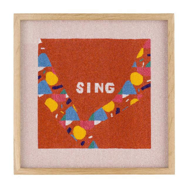 , 'Sing (Laudate Dominum in London Fields),' 2018, Rebecca Hossack Art Gallery