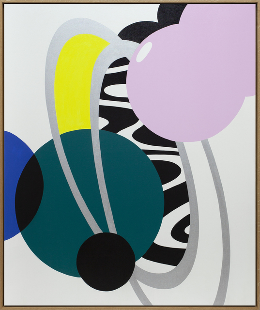 Moritz Green, 'Untitled Composition 3', 2021, Painting, Acrylic on canvas, KOLLY GALLERY