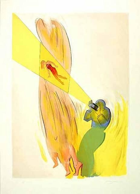 Allen Jones, 'Catwalk IV', 1999, Print, Etching, Kunzt Gallery