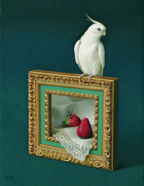 , 'Fruits drawn with Cockatiel,' , Gallery Imazoo