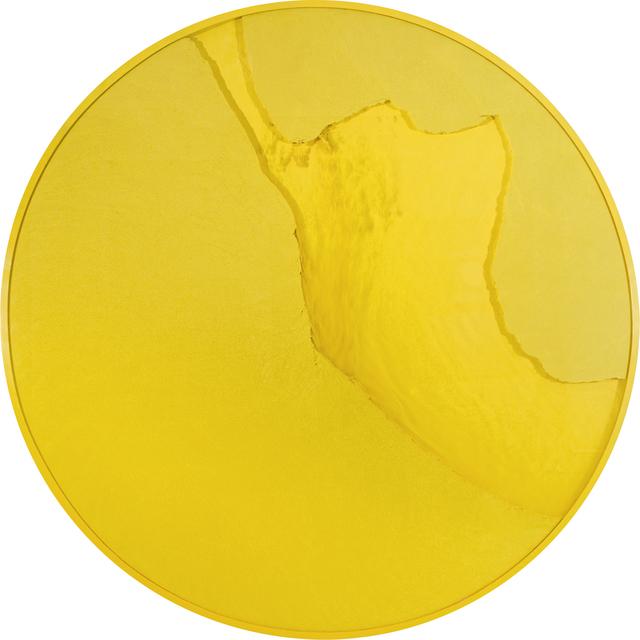 , 'Cercle jaune citron (Manuchrome Primaire),' 2015, Espace Meyer Zafra
