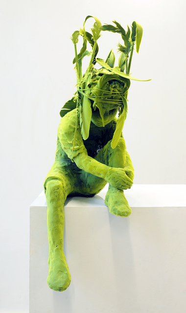 , 'Sitting Voodoo Mossboy,' 2016, Jason Jacques Gallery