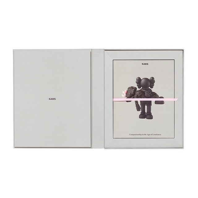 KAWS, 'KAWS LIMITED EDITION ART BOOK WITH SCREEN PRINT ', 2019, Books and Portfolios, Arches Aquarelle 300gsm, Kantor Gallery