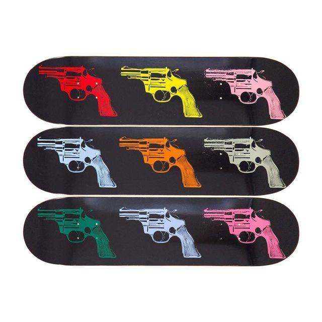 """Andy Warhol, 'ANDY WARHOL """"GUNS"""" TRIPTYCH SKATE DECKS LIMITED EDITION', 2015, Arts Limited"""