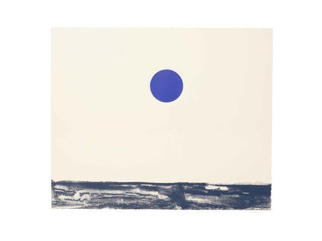 , 'Art History: Blue Moon #1,' 2015, STPI