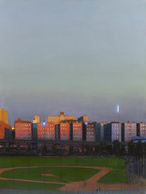, 'Heritage Park, the Bronx at Last Light,' 2015, John Martin Gallery