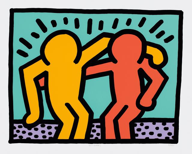 Keith Haring, 'Best Buddies', 1990, Phillips