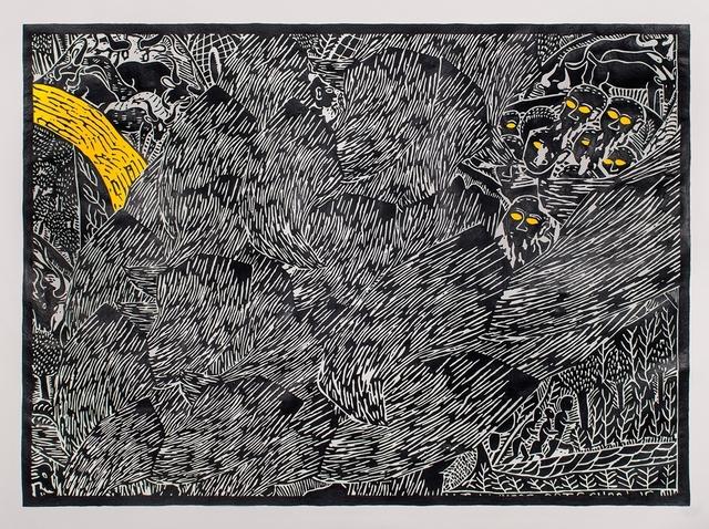 , 'Landscape MMD,' 2013, Galerie Ernst Hilger