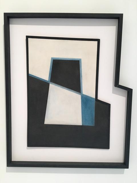 , 'Bleu, blanc, noir,' 1956, Leon Tovar Gallery