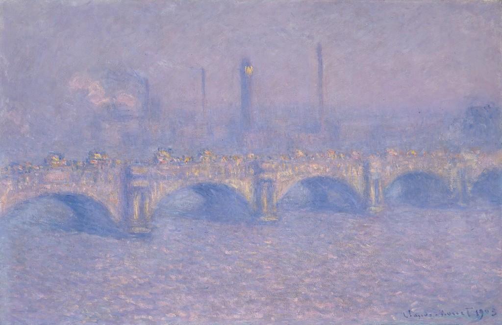 Waterloo Bridge, Blurred sun