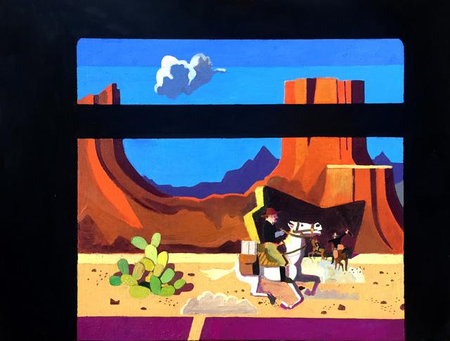 , 'Train Robbery, Scene 4,' 2016, Project: ARTspace