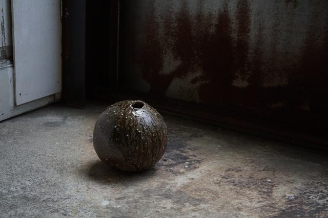 , '自然釉薬丸壷, Round Jar natural ash glazed,' 1999, Kamiya Art