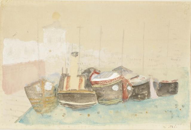 , 'Bragozzi, 1948,' 1948, Ditesheim & Maffei Fine Art