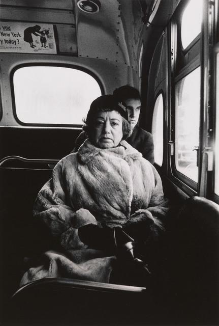 , 'Lady on a bus, N.Y.C.,' 1957, San Francisco Museum of Modern Art (SFMOMA)