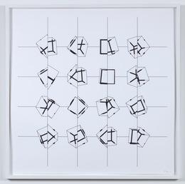 Manfred Mohr, 'P-197pz', 1977-1987, bitforms gallery