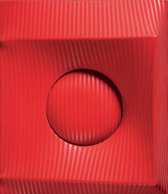 , 'Rosso,' 1968, Mazzoleni